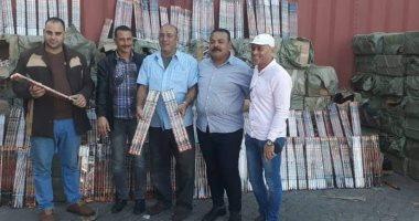 جمارك الإسكندرية تحبط تهريب كمية كبيرة من الألعاب النارية