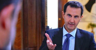 """بشار الأسد مشككاً: مقتل أبو بكر البغدادى مسرحية أمريكية.. ومساعدتنا لترامب """"نكتة"""""""