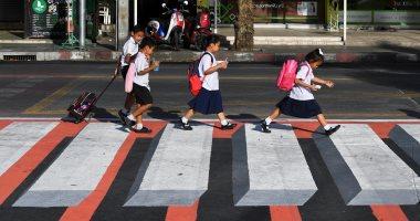 ابتكار ممر مشاة بالبعد الثالث فى تايلاند لتعزيز سلامة المارة