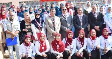 جامعة بنها تنظم المهرجان الإرشادى العاشر للجوالات بمشاركة 150 طالبة
