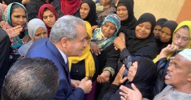 وزير التموين من أسوان: إمداد فروع المجمعات الاستهلاكية بالسلع واللحوم أول بأول