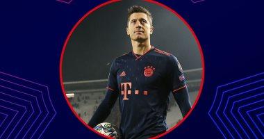 ليفاندوفسكي أفضل لاعب فى الجولة الخامسة بدوري أبطال اوروبا.. فيديو