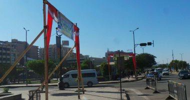 فيديو وصور.. لافتات ترحيب بمحافظ أسوان الجديد تملأ ميدان المحطة بالتزامن مع وصوله