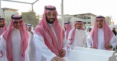ولى العهد السعودى يزور معرض إكسبو 2020 فى دبى -