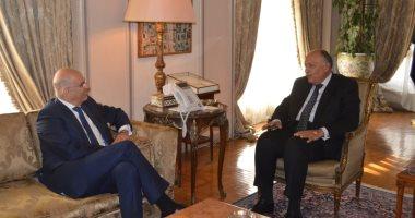 وزير خارجية اليونان يستعرض زيارته للقاهرة بشكر للسيسى