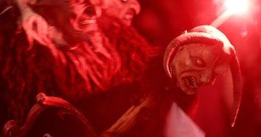 """ملابس مرعبة وأقنعة مخيفة خلال مهرجان """"كرامبوس الشيطان"""" فى النمسا"""