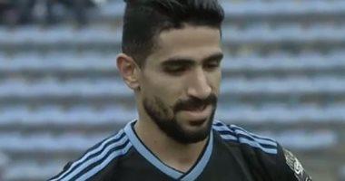 فيديو.. محمد فاروق يحرز هدف تقدم بيراميدز على نواذيبو من ضربة ثابتة