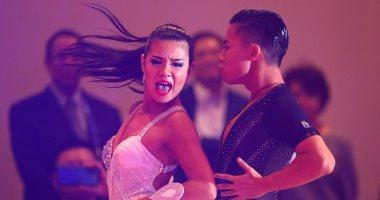 انطلاق مسابقة الرقص الفردى فى إطار دورة ألعاب جنوب شرق آسيا