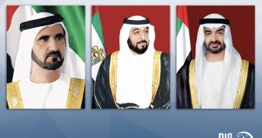 رئيس الإمارات ونائبه يتلقون برقيات تهنئة باليوم الوطنى للبلاد