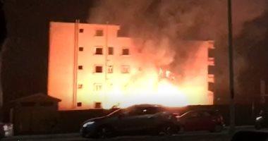 ارتفاع ضحايا حريق الخرطوم إلى 24 وإصابة 45
