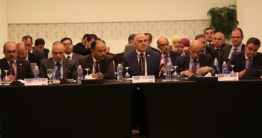 أول صور لاجتماع وزراء الرى بمصر والسودان وإثيوبيا لبحث قضية سد النهضة