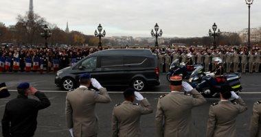 موكب النعوش يتصدر حفل تأبين الجنود الفرنسيين المقتولين بمالى فى باريس
