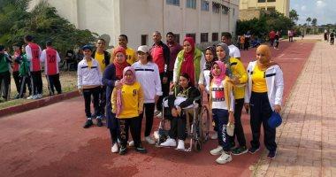 10 معلومات عن بطولة البارالمبية لأصحاب الهمم بالجامعات المصرية