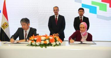 """وزير الاتصالات يشهد مذكرتى تعاون للتحول الرقمى مع NEC العالمية وشركة """"وظف"""""""