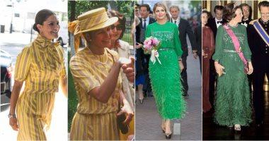 اكفى القدرة على فمها تلبس الأميرة زى امها.. 7 فساتين ورثتها أميرات أوروبا