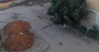 شكوى من تجريف مساحة خضراء أمام سوق السيارات بمدينة نصر