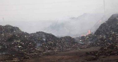 شكوى من استمرار مقلب القمامة والتى يتم التخلص منها عن طريق الحرق