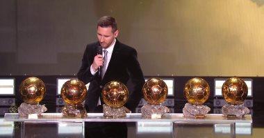 حفل الكرة الذهبية 2019 .. ميسي: موعد الاعتزال يقترب وهو أمر صعب