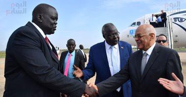 على عبد العال على رأس وفد برلمانى لبحث العلاقات مع جنوب السودان