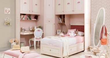 باليتة ألوان غرف نوم البنات فى 2020 من الوردى للبرتقالى اليوم السابع
