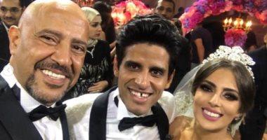 حمدى الميرغنى و إسراء عبد الفتاح يرزقان بطفلتهما الأولى تمارا