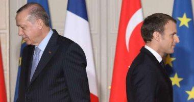 شاهد فى دقيقة.. صفعة فرنسية على وجه السفاح..حرب كلامية بين ماكرون وأردوغان