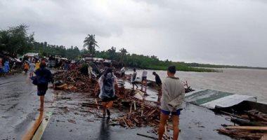 إعصار كامورى ورياح شديدة تجتاح الفلبين وسقوط ضحايا