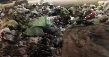 قارئ يشكو من انتشار القمامة بشارع السوق المنيرة الغربية إمبابة