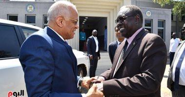 رئيس مجلس النواب يعود إلى القاهرة بعد زيارة مهمة الى جنوب السودان