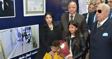 محافظ القاهرة يطلق اسم الشهيد عقيد رامى هلال على مدرسة بالتجمع