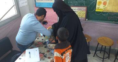 صور.. قافلة جامعة قناة السويس الطبية تعالج 434 حالة بقرية الفردان بالإسماعيلية -