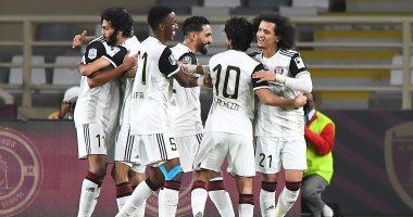 كينو يقود الجزيرة لنصف نهائي كأس الخليج العربى برباعية فى الوحدة.. فيديو