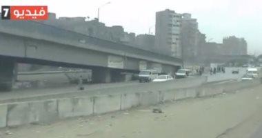 فيديو.. شاهد الحركة المرورية بطريق إسكندرية الزراعى اليوم الجمعة