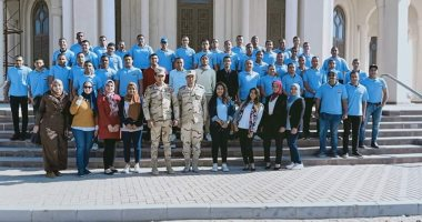 جامعة حلوان تنظم زيارة لطلابها للعاصمة الإدارية الجديدة