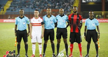 صور.. انطلاق مباراة الزمالك وأول أغسطس الأنجولى بدورى أبطال أفريقيا