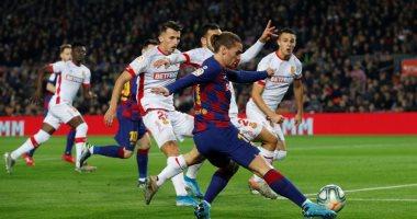 """برشلونة ضد مايوركا.. البارسا يضرب الضيوف بثنائية جديدة 4-1 """"فيديو"""""""