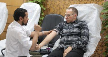 بنك الدم القومى: تأمين عمليات نقل الدم لمنع عدوى كورونا بين المتبرعين