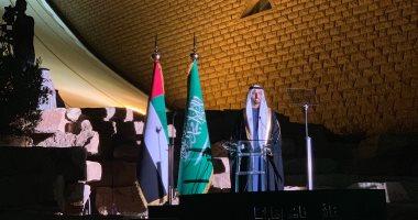 أنور قرقاش يحتفل باليوم الوطنى للإمارات فى المملكة العربية السعودية