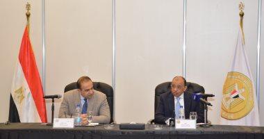 اللواء محمود شعراوى وزير التنمية المحلية يتحدث للمحافظين الجدد