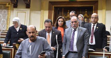 صور.. تأبين البرلمان للنائب محمد بدوي دسوقي ورئيس النواب يعلن خلو المقعد