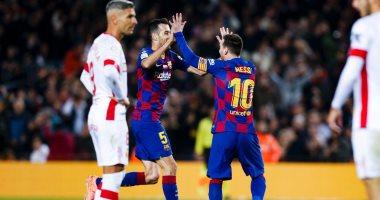 ملخص وأهداف مباراة برشلونة ضد مايوركا 5-2 في الدوري الإسباني