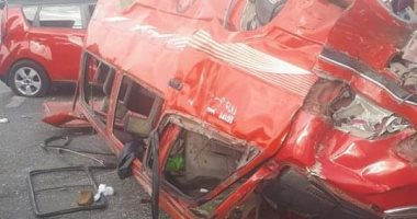 ننشر أسماء 41 طفلا وشابين مصابين فى حادث انقلاب سيارة نقل بقنا