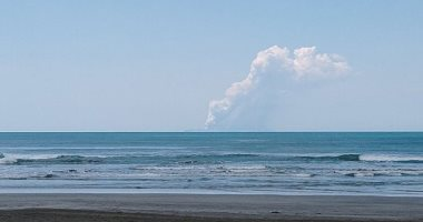ثوران بركان فى نيوزيلندا