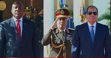 رئيس جنوب افريقيا: السيسى قاد القارة بطريقة رائعة خلال رئاسة مصر للاتحاد الأفريقى