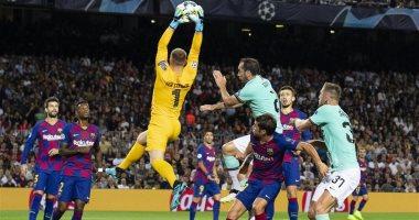 التشكيل الرسمى لمباراة إنتر ميلان ضد برشلونة فى دورى ابطال اوروبا