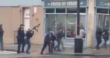 العربية: مسلحان أطلقا النار على 4 من رجال الأمن ما أدى لمقتل أحدهم فى نيوجيرسى