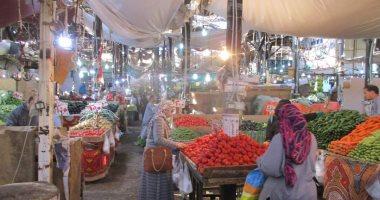 تعرف على أسعار الخضروات اليوم بسوق الدهار بالغردقة.. صور