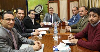 محافظ المنوفية يعقد اجتماعا لمناقشة توقيع بروتوكول مع الشركة المصرية للاتصالات