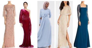 من حق أم العريس تتشيك.. أبرز تصميمات فساتين مناسبة لفرح ابنك