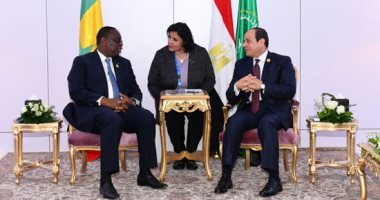 السيسى: نتطلع لتعظيم التعاون مع السنغال فى مجال مكافحة الفكر المتطرف